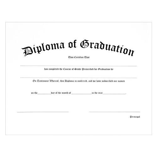 Custom Diploma of Graduation
