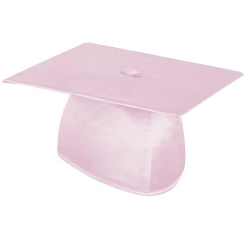 Shiny Pink Graduation Cap