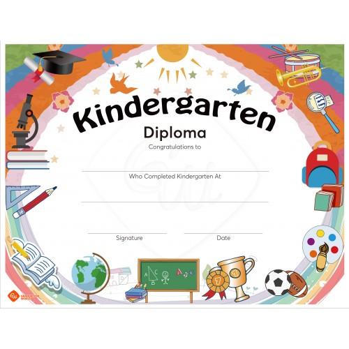 Kindergarten Diploma of Graduation