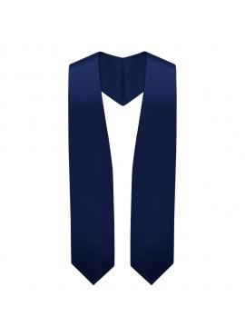 Navy Blue Graduation Stole