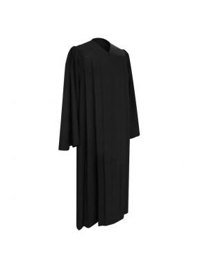 Deluxe Black Bachelor Graduation Gown