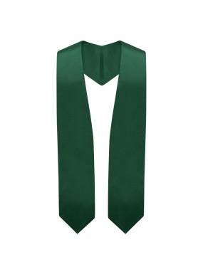 Hunter Green Graduation Stole