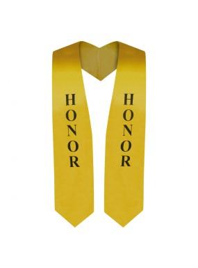 Gold Honor Graduation Stole