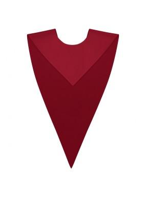 Red Graduation V Stole