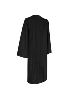 Eco-Friendly Black Bachelor Graduation Gown