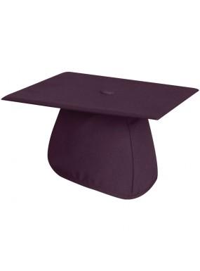 Matte Maroon Graduation Cap