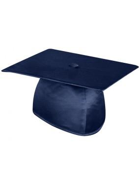 Shiny Navy Blue Graduation Cap