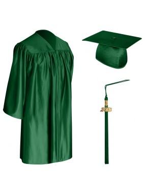 Hunter Child Graduation Cap, Gown & Tassel