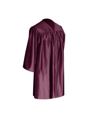 Maroon Child Graduation Gown