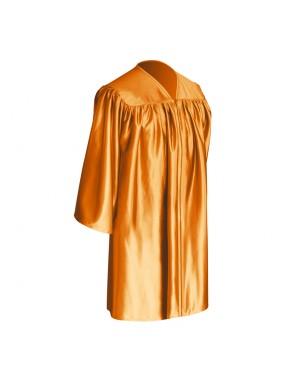 Orange Child Graduation Gown