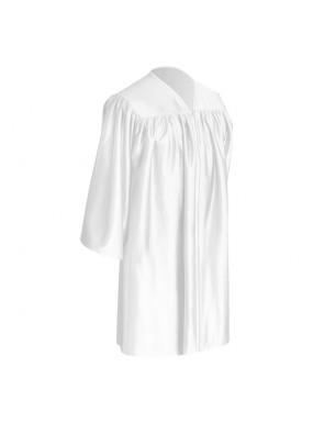 White Child Graduation Gown