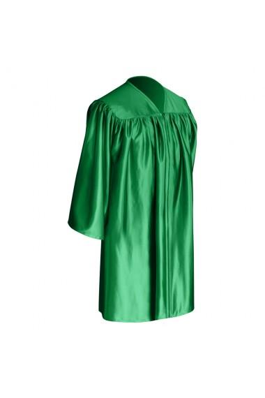 Green Graduation Gown For Children Graduation World