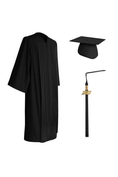 Eco Friendly Black Bachelor Graduation Cap Gown Amp Tassel