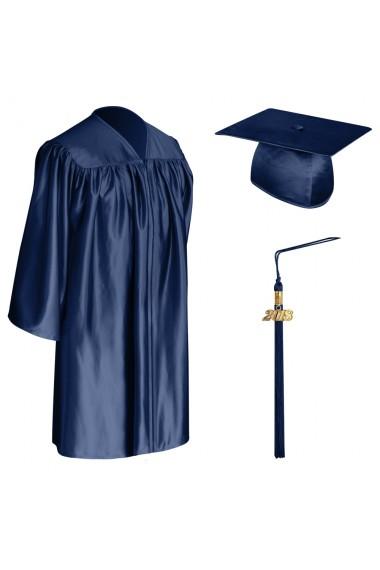 Navy Blue Child Graduation Cap Gown Amp Tassel Pre School