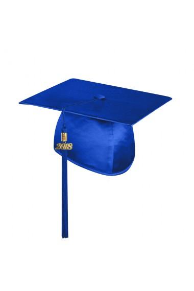 Child Royal Blue Graduation Cap With Tassel Caps Tassels Pre School Kindergarten Shop By Graduation Type Shop Now