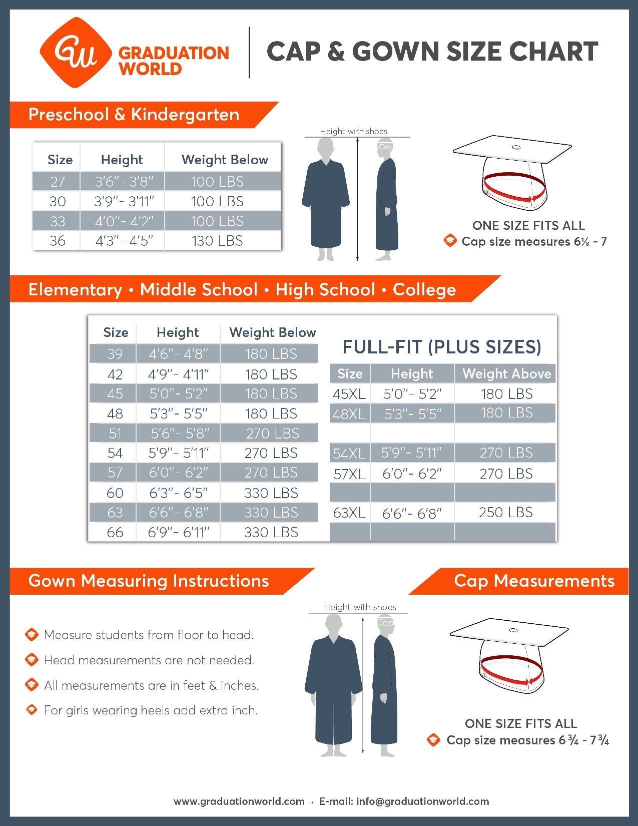 Matte Royal Blue Graduation Cap, Gown & Tassel Set|College